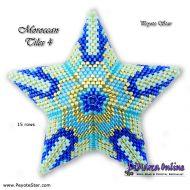 Tutorial Moroccan Tiles 4 - 3D Peyote Star + Basic Tutorial Little 3D Peyote Star (download link per e-mail)