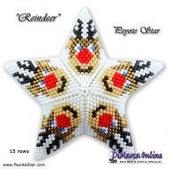 Tutorial Reindeer 3D Peyote Star + Basic Tutorial Little 3D Peyote Star (download link per e-mail)
