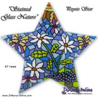 Tutorial Stained Glass Nature 3D Peyote Star + Basic Tutorial (download link per e-mail)
