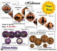 3D Pattern Value Pack - Halloween 2 - 3D Peyote Pods and Balls + Basic Tutorial (download link per e-mail)