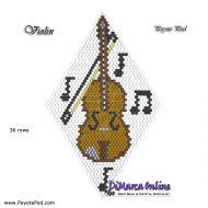 Tutorial Violin 3D Peyote Pod + Basic Tutorial Little 3D Peyote Pod (download link per e-mail)