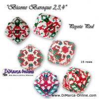 Tutorial Bicone Baroque 2, 3 & 4 - 3D Peyote Pod + Basic Tutorial (download link per e-mail)