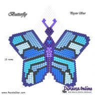 Tutorial Butterfly 3D Peyote Star + Basic Tutorial Little 3D Peyote Star (download link per e-mail)