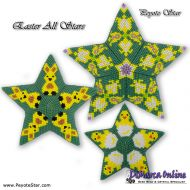 Tutorial Easter All Stars 3D Peyote Star + Basic Tutorial Little 3D Peyote Star (download link per e-mail)