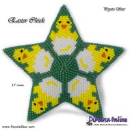 Tutorial Easter Chick 3D Peyote Star + Basic Tutorial Little 3D Peyote Star (download link per e-mail)