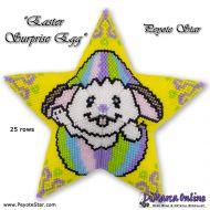 Tutorial Easter Surprise Egg 3D Peyote Star + Basic Tutorial (download link per e-mail)