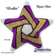 Tutorial Endless 3D Peyote Star + Basic Tutorial (download link per e-mail)