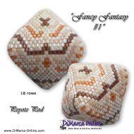 Tutorial Fancy Fantasy 1 - 3D Peyote Pod + Basic Tutorial Little 3D Peyote Pod (download link per e-mail)