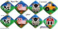 Tutorial Farm - 2 versions - 3D Peyote Pod + Basic Tutorial Little 3D Peyote Pod (download link per e-mail)