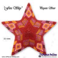 Tutorial Fire Sky 3D Peyote Star + Basic Tutorial (download link per e-mail)