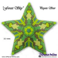 Tutorial Forest Sky 3D Peyote Star + Basic Tutorial (download link per e-mail)