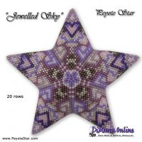 Tutorial Jewelled Sky 3D Peyote Star + Basic Tutorial (download link per e-mail)