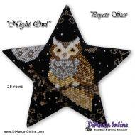 Tutorial Night Owl 3D Peyote Star + Basic Tutorial Little 3D Peyote Star (download link per e-mail)