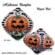 Tutorial Halloween Pumpkin 3D Peyote Pod + Basic Tutorial Little 3D Peyote Pod (download link per e-mail)