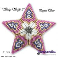 Tutorial Stay Safe 3 - 3D Peyote Star + Basic Tutorial (download link per e-mail)