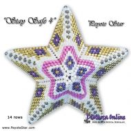 Tutorial Stay Safe 4 - 3D Peyote Star + Basic Tutorial (download link per e-mail)