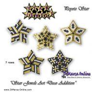 Tutorial Star Jewels Art Deco Addition x 5 - 3D Peyote Star + Basic Tutorial Little 3D Peyote Star (download link per e-mail)
