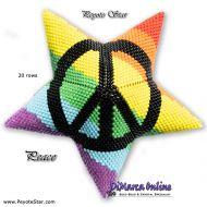 Tutorial Peace 3D Peyote Star + Basic Tutorial (download link per e-mail)