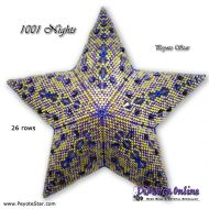 Tutorial 1001 Nights 3D Peyote Star + Basic Tutorial Little 3D Peyote Star (download link per e-mail)