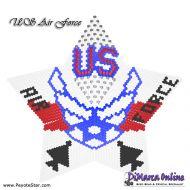 Tutorial US Air Force 3D Peyote Star + Basic Tutorial Little 3D Peyote Star (download link per e-mail)