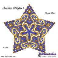 Tutorial Arabian Nights 1 - 3D Peyote Star + Basic Tutorial Little 3D Peyote Star (download link per e-mail)