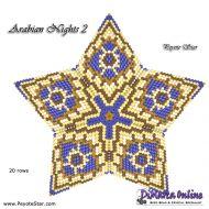 Tutorial Arabian Nights 2 - 3D Peyote Star + Basic Tutorial Little 3D Peyote Star (download link per e-mail)