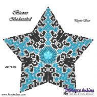 Tutorial Bicone Bedazzled 3D Peyote Star + Basic Tutorial Little 3D Peyote Star (download link per e-mail)