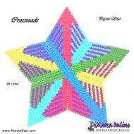 Tutorial Crossroads 3D Peyote Star + Basic Tutorial Little 3D Peyote Star (download link per e-mail)