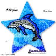 Tutorial Dolphin 3D Peyote Star + Basic Tutorial Little 3D Peyote Star