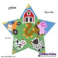Tutorial Farm 3D Peyote Star + Basic Tutorial Little 3D Peyote Star (download link per e-mail)