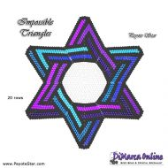 Tutorial Impossible Triangles 3D Peyote Star + Basic Tutorial Little 3D Peyote Star (download link per e-mail)