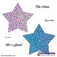 Tutorial Maze 3D Peyote Star + Basic Tutorial Little 3D Peyote Star (download link per e-mail)