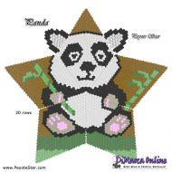 Tutorial Panda 3D Peyote Star + Basic Tutorial Little 3D Peyote Star (download link per e-mail)
