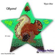 Tutorial Squirrel 3D Peyote Star + Basic Tutorial Little 3D Peyote Star