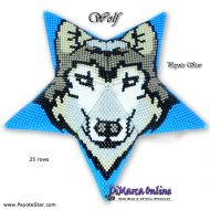 Tutorial Wolf 3D Peyote Star + Basic Tutorial Little 3D Peyote Star