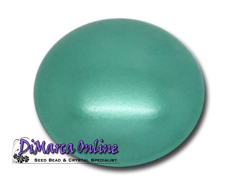 Cabochons Pearlized Glass Round 18 mm Par Puca