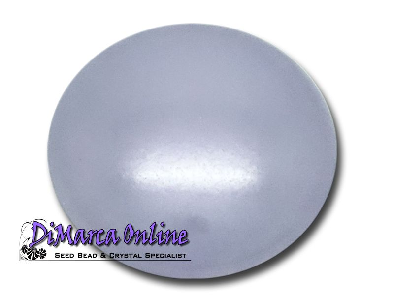 Cabochons Pearlized Glass Round 25 mm Par Puca