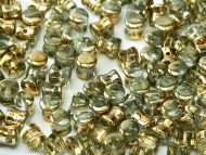 PL-00030/26441 Crystal Amber (Gold) Pellet Beads - 60 x