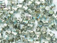 PL-00030/98530 Crystal Rainbow Silver Pellet Beads - 60 x