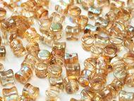 PL-00030/98532 Crystal Rainbow Brown Pellet Beads - 60 x