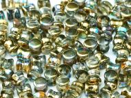 PL-00030/98536 Crystal Rainbow Gold Pellet Beads - 60 x