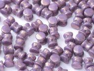 PL-03000/15726 Chalk Lila Lumi Pellet Beads - 60 x