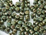 PL-03000/65431 Chalk Green Lumi Pellet Beads - 60 x