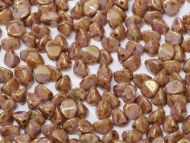 PN-03000/15695 Chalk Bronze Lumi Pinch Beads
