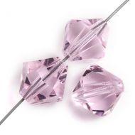 PB08 Pink Sapphire 8 mm Bicone Preciosa