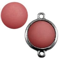 Pol Matt Antique Pink15 mm Round Cabochon Polaris