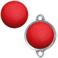Pol Matt True Red 20 mm Round Cabochon Polaris