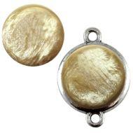 Pol Pearl Shine Almondine 20 mm Round Cabochon Polaris