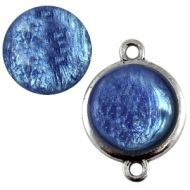 Pol Pearl Shine Deep Ultramarine 15 mm Round Cabochon Polaris