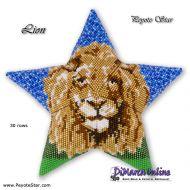 Tutorial Lion 3D Peyote Star + Basic Tutorial Little 3D Peyote Star